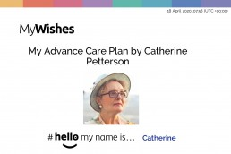 Hello my name is advance care plan